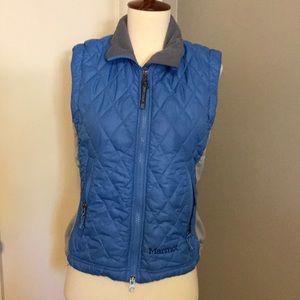 Marmot vest blue/gray Sz S/P